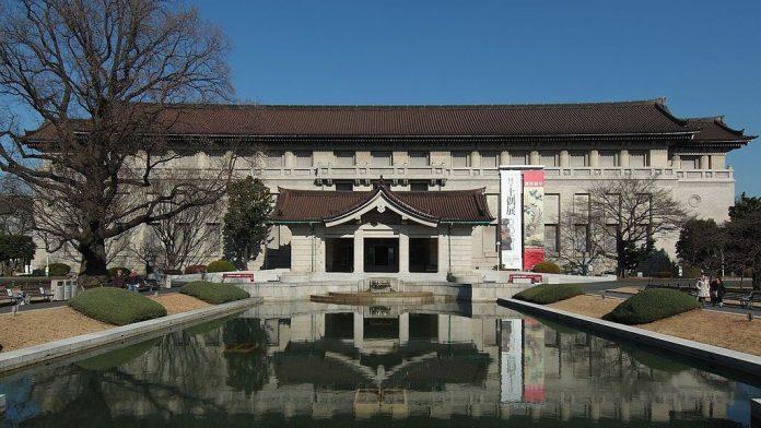 東京國立博物館。圖片來源:mapway。