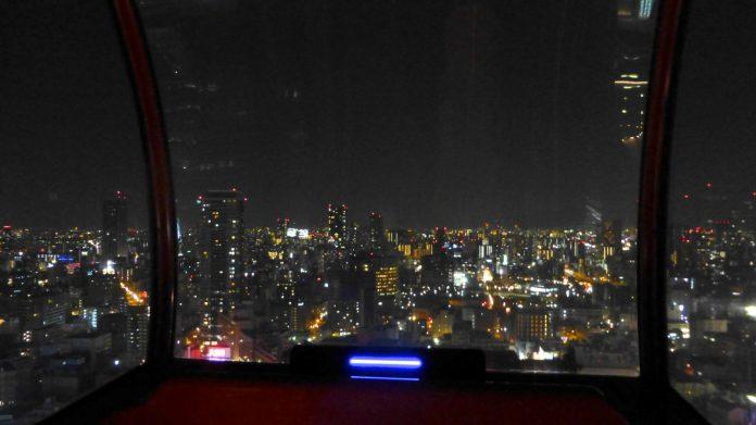 HEP FIVE 夜景