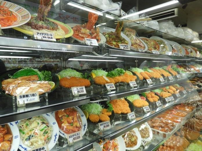 合羽橋道具街的食物模型店