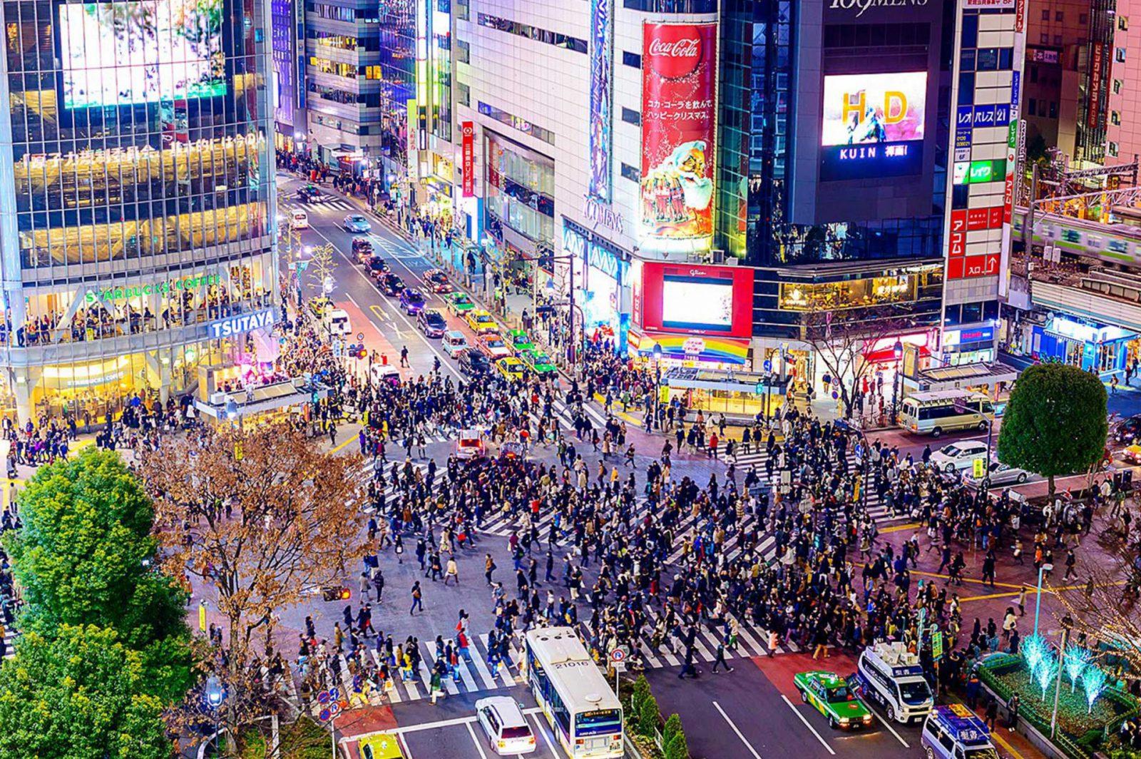 澀谷車站前十字路口