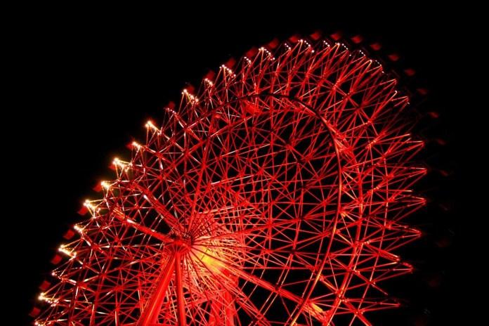 HEP FIVE摩天輪。圖片來源:kyotokimono-rental