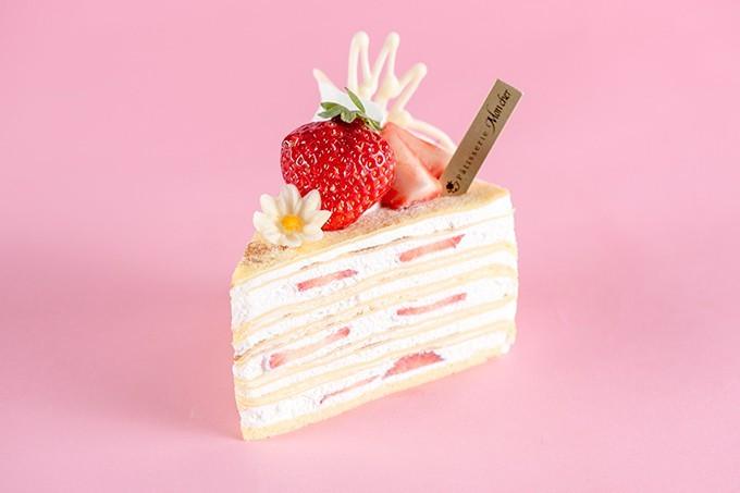 Moncher 草莓千層派