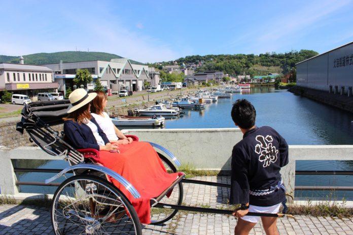 小樽運河 人力車導覽