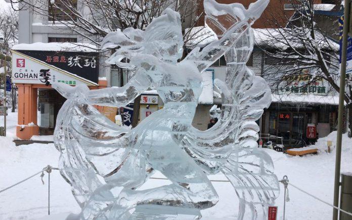 旭川冬祭國際冰雕比賽