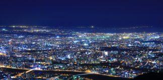 cropped 岩藻山夜景