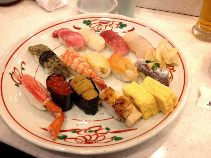 築地壽司好 美食