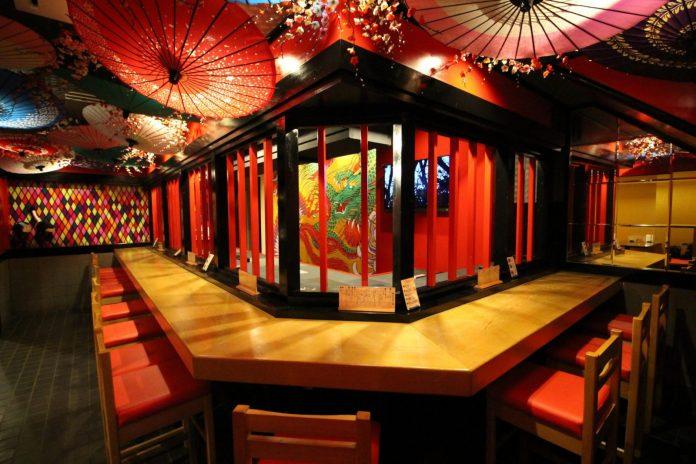 花魁酒吧 OIRAN de ENJOU 炎城 1