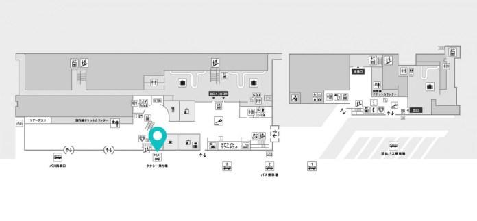 函館機場計程車地點