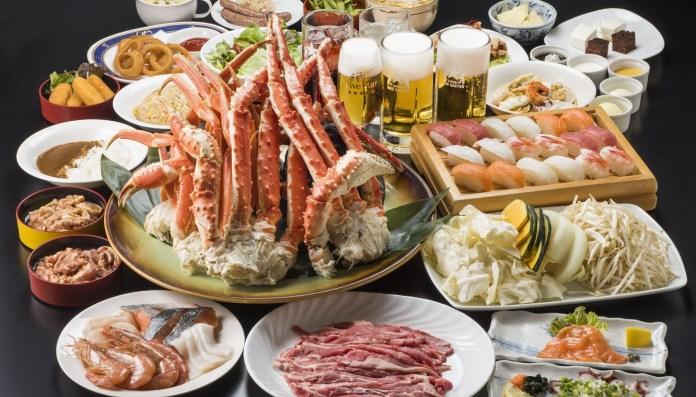 北海道啤酒花園螃蟹