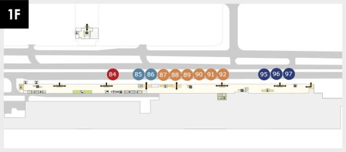 新千歲機場國際線巴士停靠站