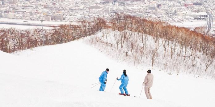 藻岩山滑雪場