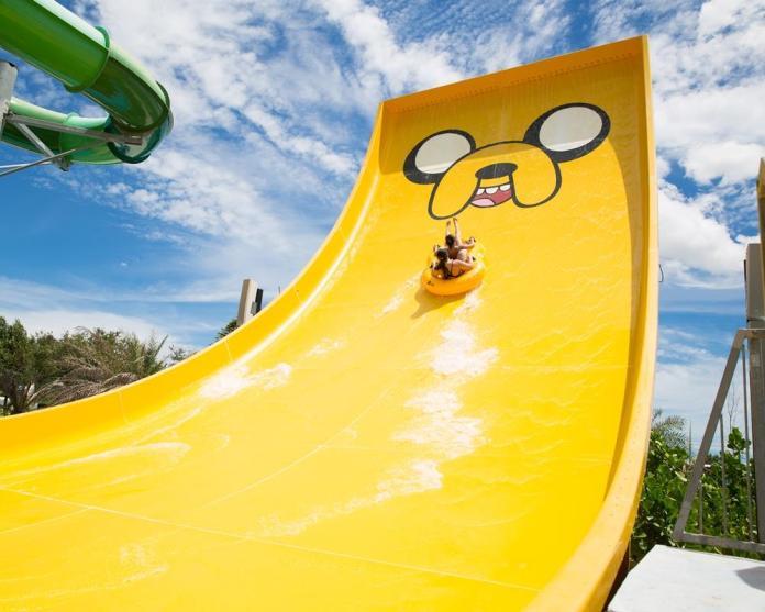 Cartoon Network 樂園老皮滑水道