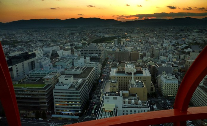 京都塔觀景台1