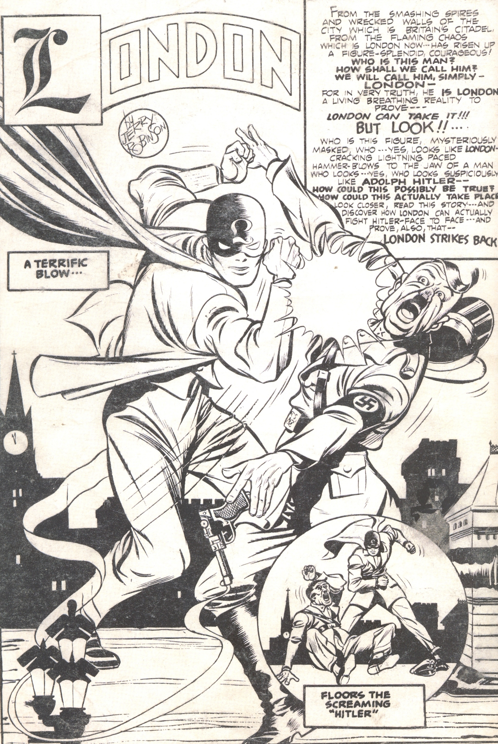 Jerry Robinson Ambassador Of Comics Ii Travalanche