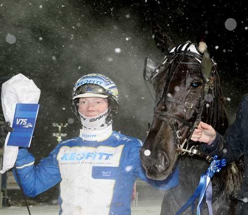 Mads Hviid Nielsen og Tack Wee . en vinderekvipage! Foto Kanal 75