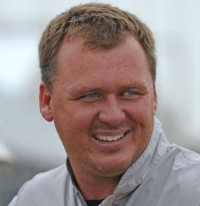 Ron Burke - træner Dizzy Broad