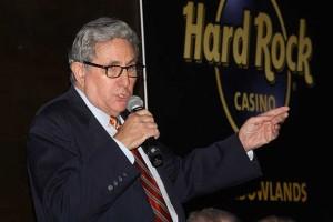 Jeff Gural - tæt på at få sin drm om et casino på The Meadowlands opfyldt. Lisa Photo