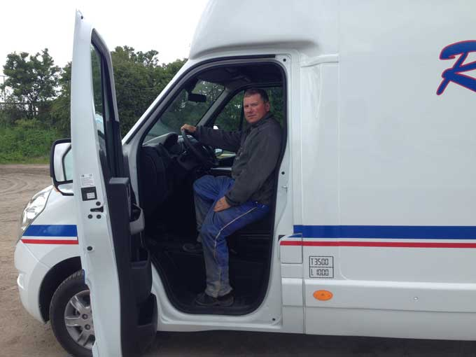 Rene Jonassen kan næsten ikke vente med at skulle køre den nye il hele vejen til Solvalla.