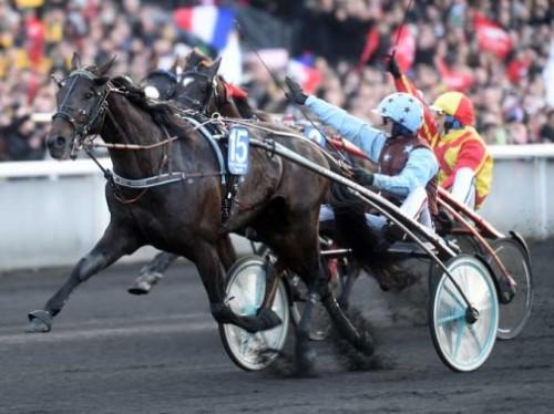 Er det allerede nu  Up and Quick og Jean Michel Bazire  slår til?  Foto Gerard Forni