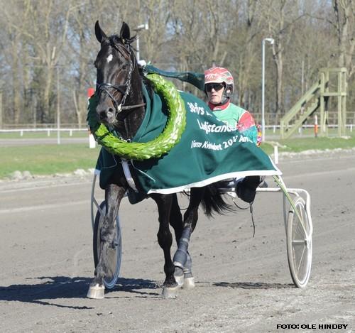 Classic Grand Cru på æresrunde med Steen Juul Foto Ole HIndby
