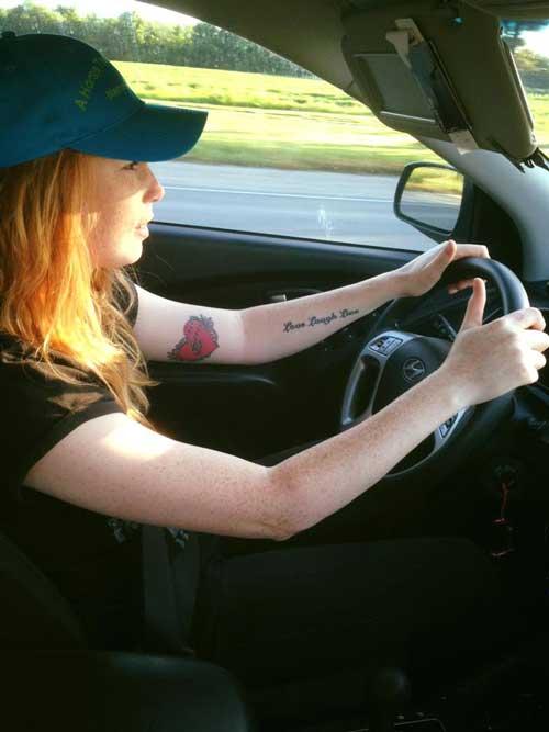 Det er rart at køre med automat-gear