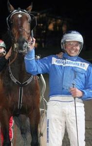 Christian Clausen var godt kørende og vandt to sejre, Foto Martin Timm Holmstav