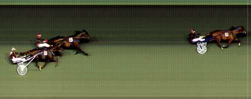 Speedy Gon Sali vandt sikkert foran Phantom KD . men nogle rekorder for løbet er endnu ikke offentliggjort