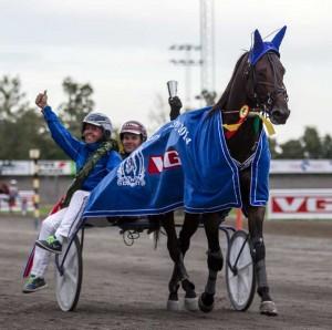 Viking Va Bene satte banerekord på Leangen. Foto Eirik Stenhaug