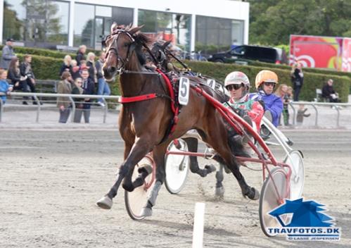 Whisper Line med Steen Juul vandt i eftermiddagens hurtigste notering.