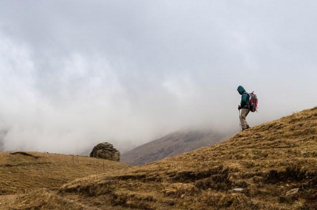 Wandelnavigatie in de bergen