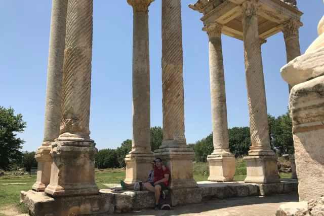 Sim & Leo in Turkije de geschiedenis bekijken