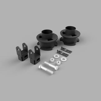 Kit #108034 – 2017-2021 Ford F250/F350/F450 Superduty 4×4 – 2.5″ Front Level Kit
