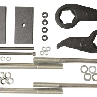 Kit #405049 – 2011-2019 Chevrolet & GMC 3500HD 2wd/4wd Dual Rear Wheel – Front And Rear Lift Kit