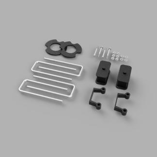 Kit #406026 – 2007-2018 Chevrolet Silverado 1500/GMC Sierra 1500 – 2-2.5″ Front 1″ Rear Lift Kit