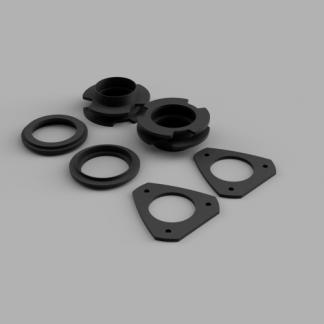 Kit #407015 – 2010-2017 Chevy Equinox / GMC Terrain – 1.75″ Front 1″ Rear Lift Kit