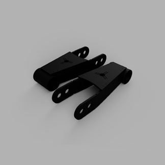Kit #604005 – 1995-2000 Dodge Ram 1500 2WD/4WD – 1″-2″ Rear Lowering Kit