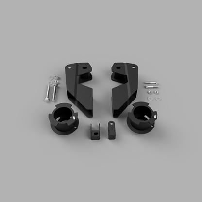 Kit #605052 fits 2014- 2021 Dodge Ram 2500 4×4/4×2 Lift Kit – 3.5″ Front