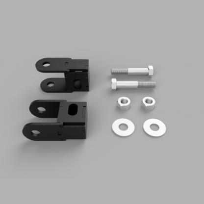 Kit #605090 2013 – 2021 Dodge Ram 3500, 2014-2021 Dodge Ram 2500 Front Shock Extenders and Hardware