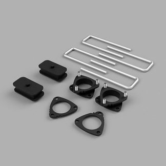 Kit #905017 – 2005-2015 Toyota Tacoma 2wd/PreRunner/4wd – Front And Rear Lift Kit