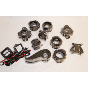 Kit #107010 – 1999-2004 Ford F250/F350 Superduty 4wd & Ford Excursion 4wd – 2″ Front Level Kit