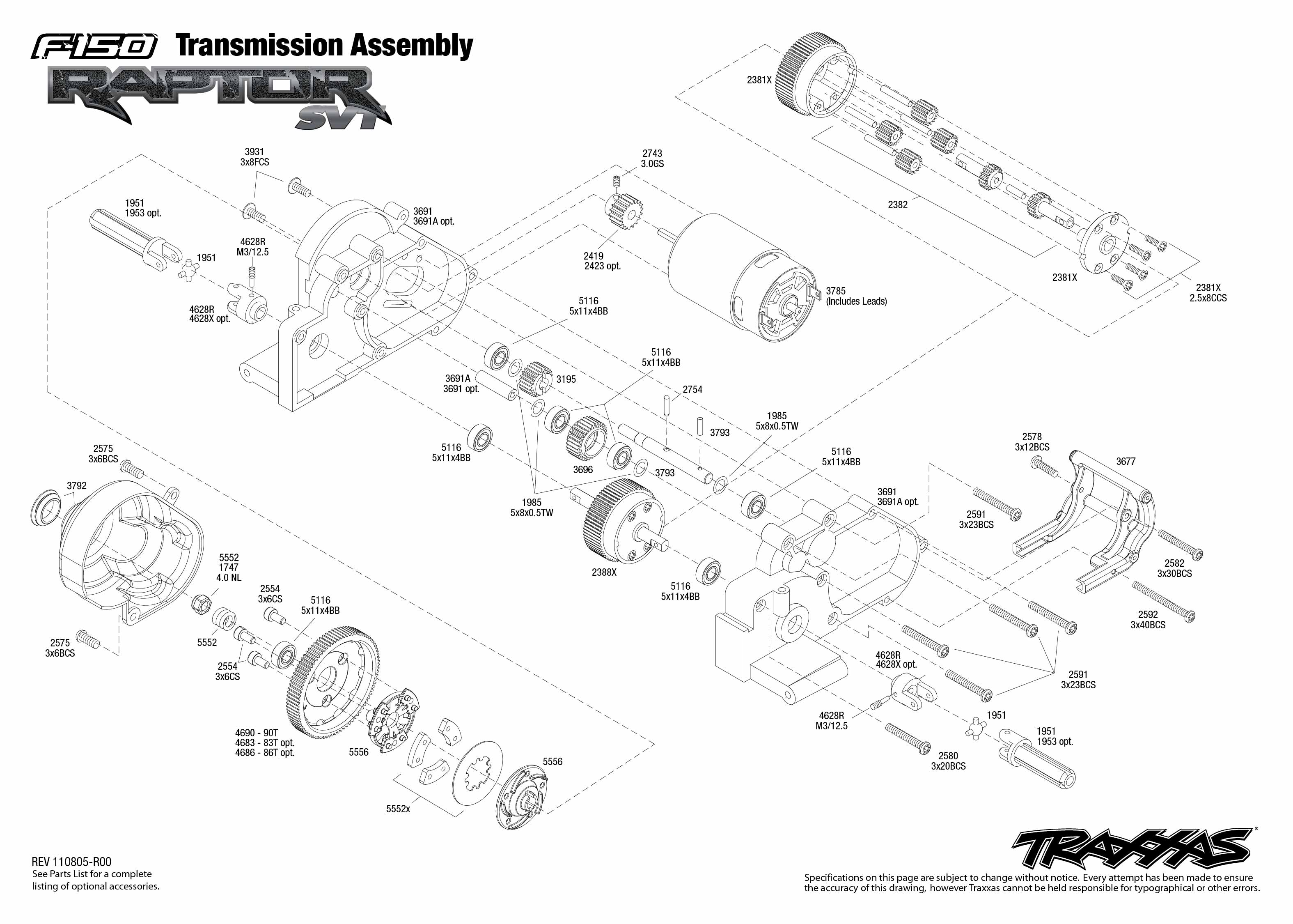 Transmission Exploded View F 150 Ford Raptor