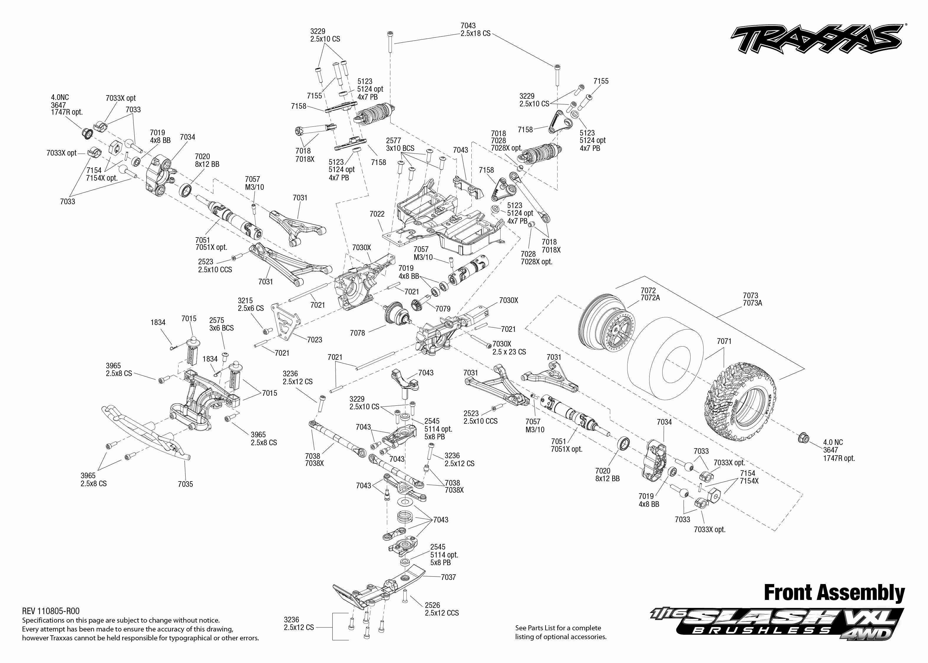 29 Traxxas Slash 4x4 Parts Diagram