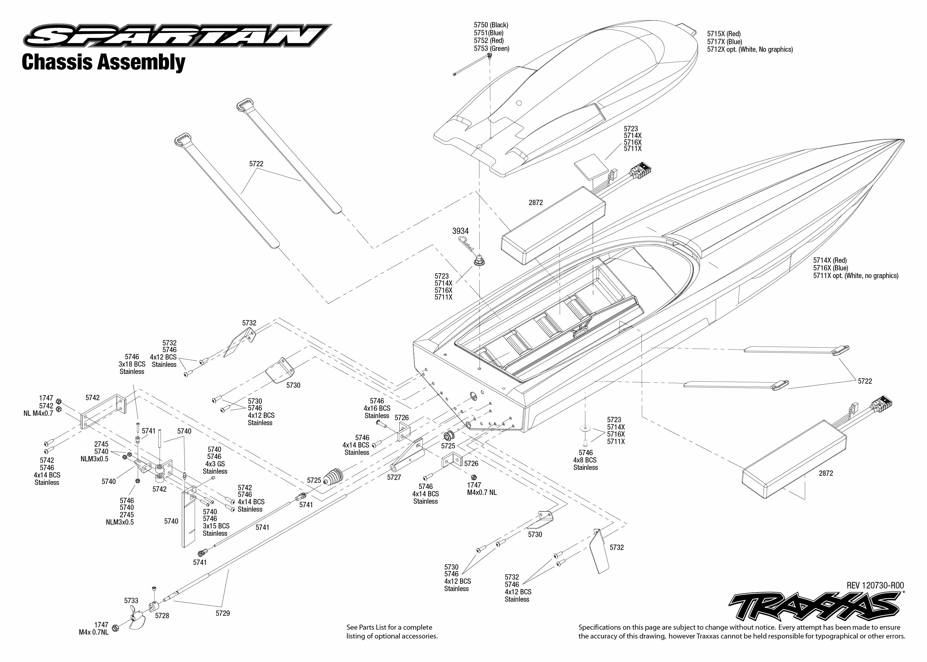 Chassis Exploded View Spartan Vxl 6s Powered By