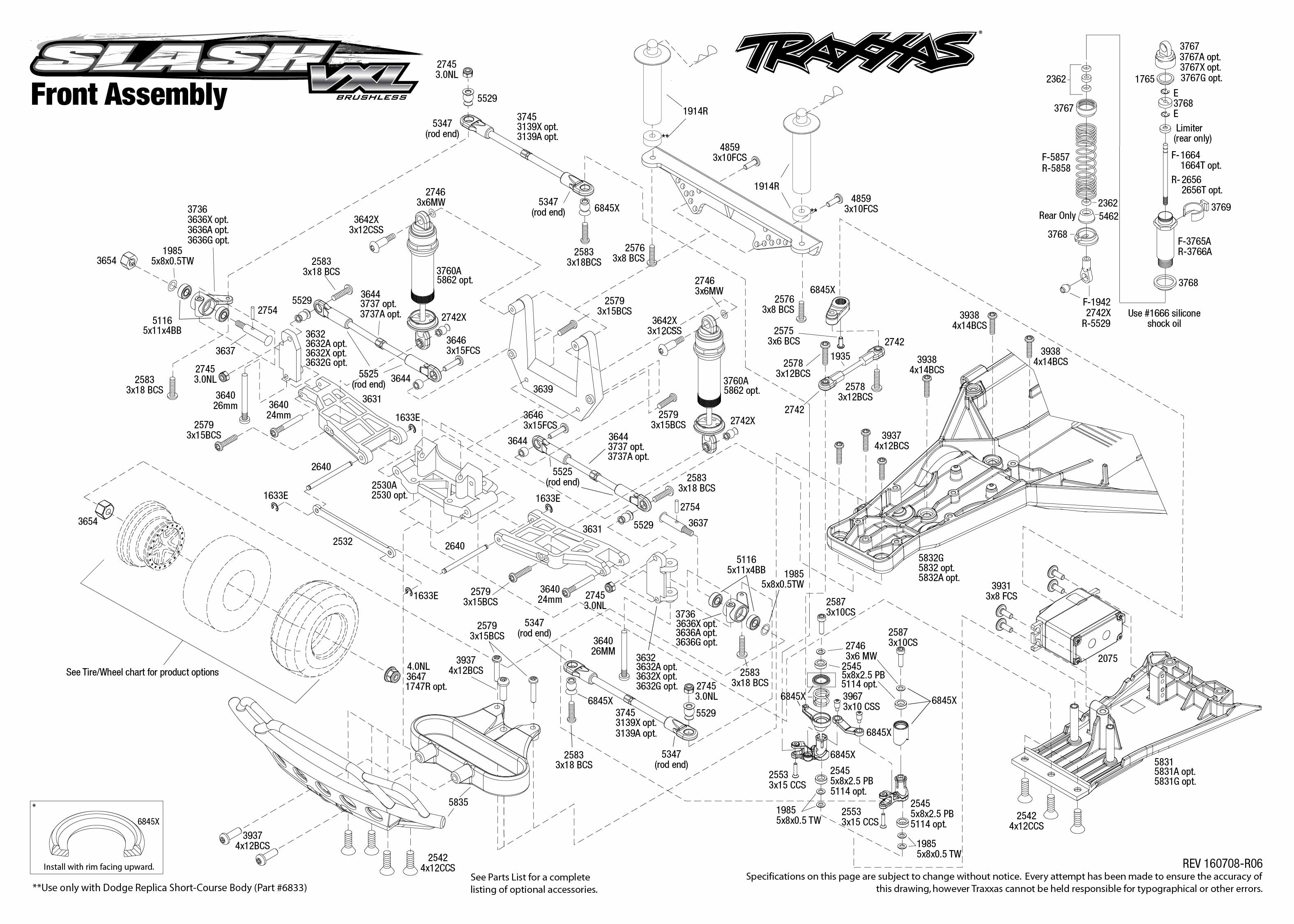 34 Traxxas Rustler Vxl Parts Diagram