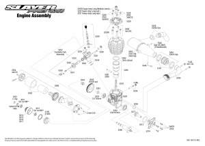 Slayer Pro 4X4 (590763) Engine Assembly Exploded View