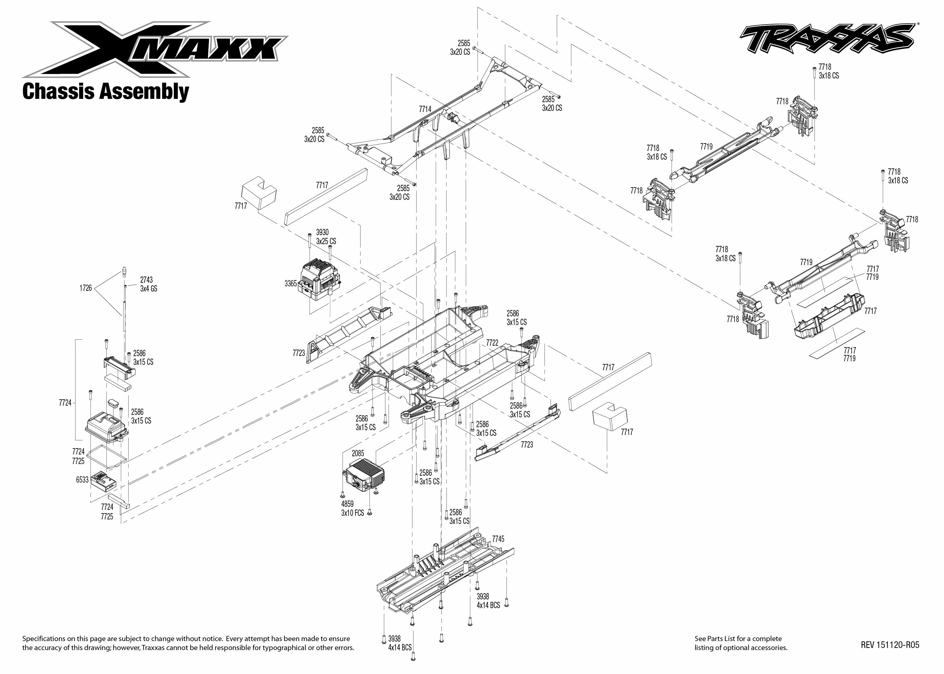 Traxxas New Kit 4 X Maxx Amp