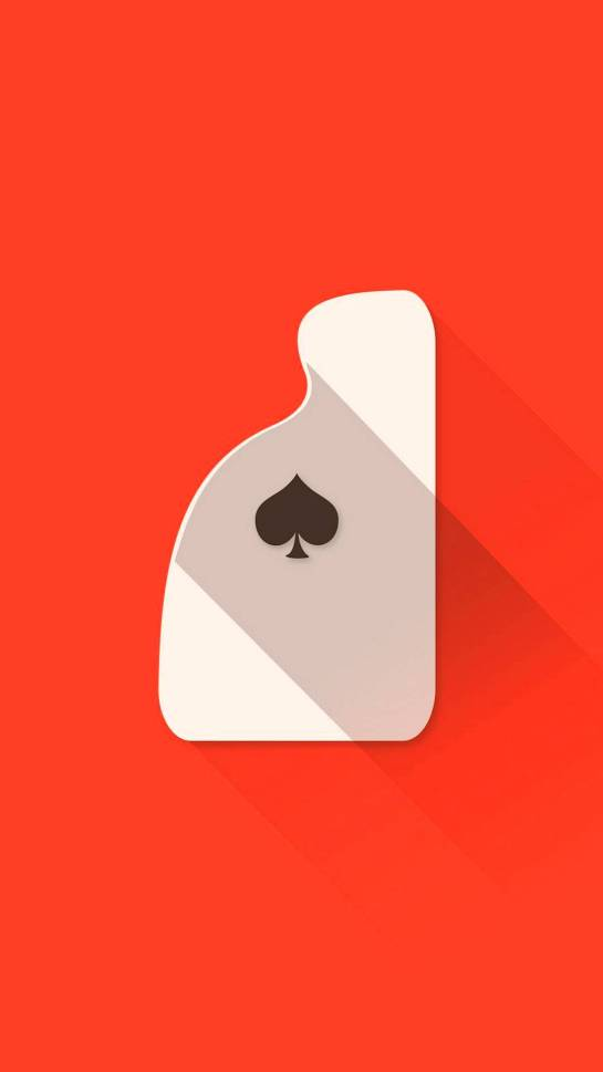Spade Playing Cards Minimal Samsung Galaxy FHD Wallpapers Download Free