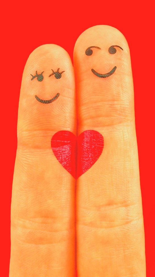 Fingers Heart Love Android HD Wallpapers 1080X1920