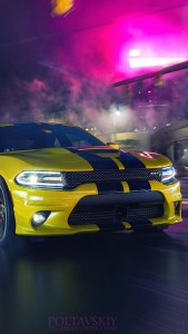Dodge Hellcat Beautiful Cars 4K Android Wallpapers