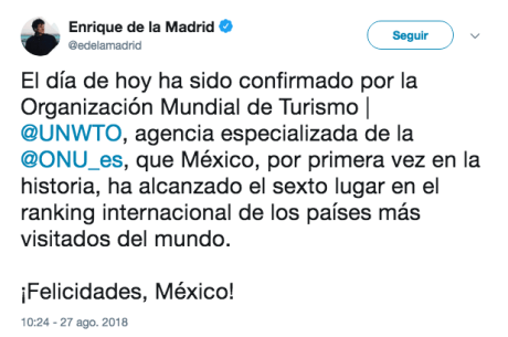 Tweet-Enrique de la madrid